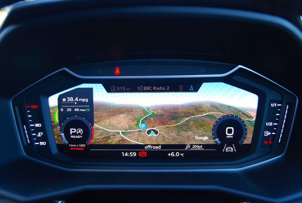2020 audi a1 sportback virtual cockpit review roadtest
