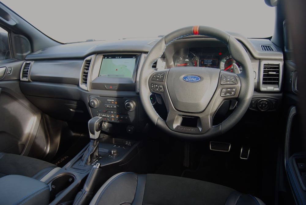 2020 ford ranger rapter interior review roadtest