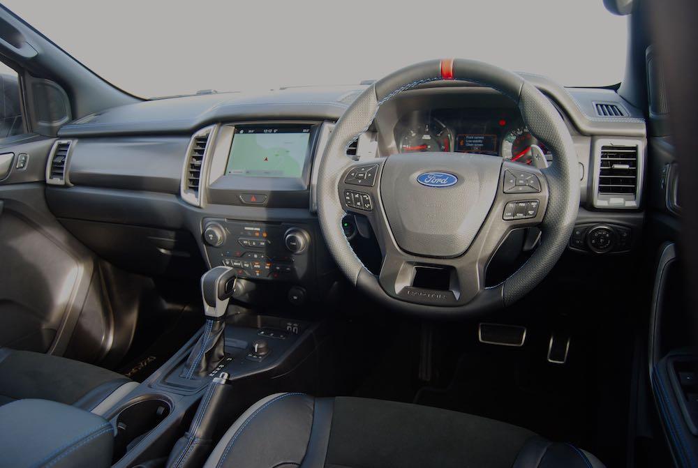 2020 ford ranger rapter interior review roadtest