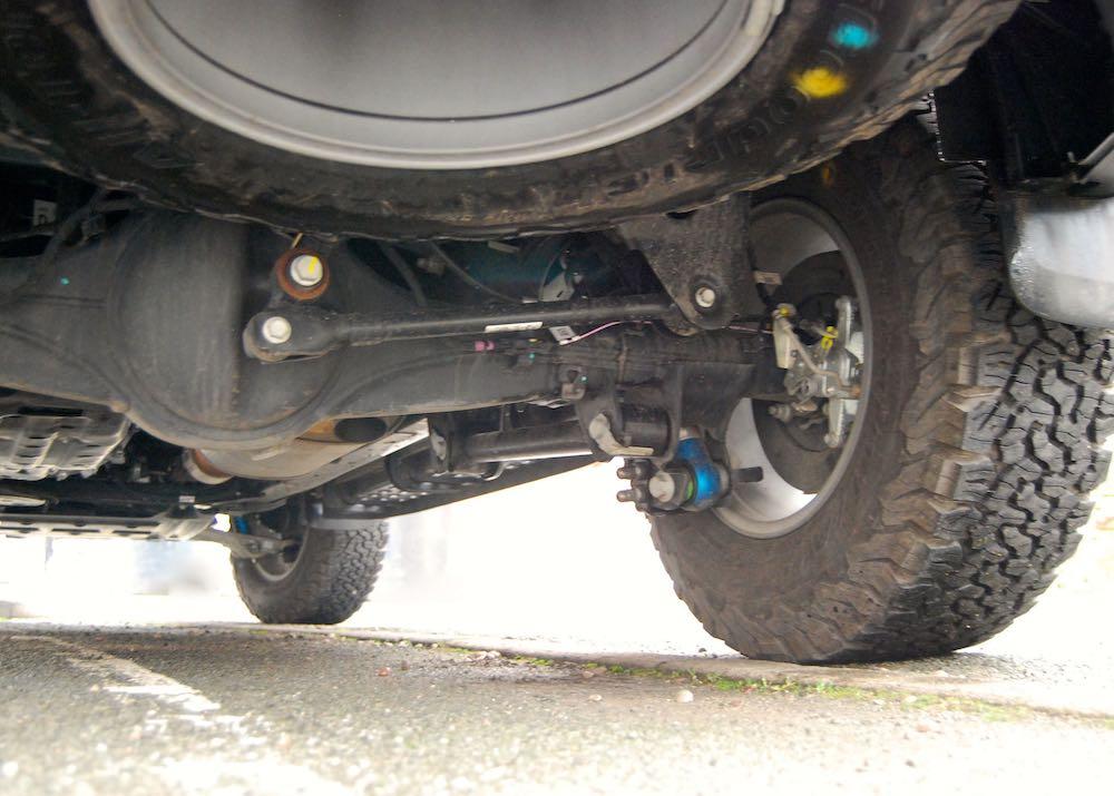 2020 ford ranger raptor rear suspension review roadtest