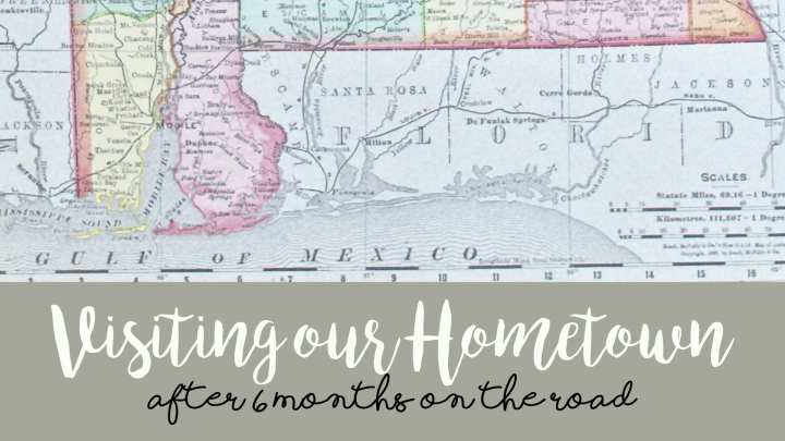 Sweet Home Alabama – Visiting our Hometown After Six Months on the Road