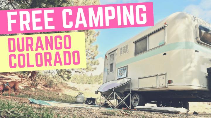 Free Camping in Durango, Colorado // Cherry Creek Road
