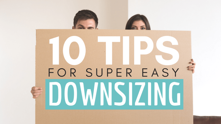 10 Tips for the Downsizing Journey