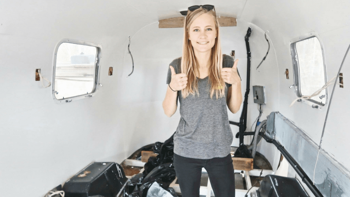 Vintage Airstream Renovation: Subfloor, Frame & Axels