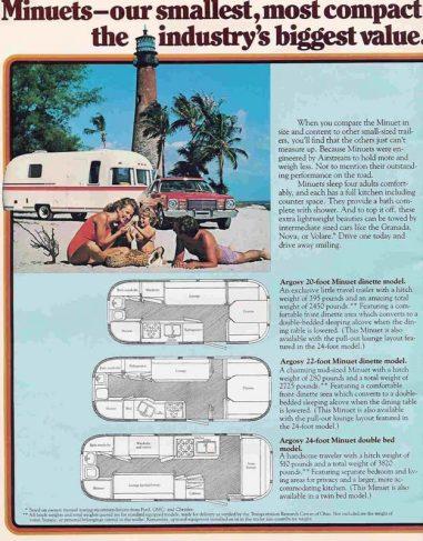 History of the Airstream Argosy - Rare Vintage Travel