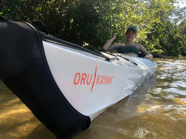 Oru Kayak Review: Sleek Lines Look Great