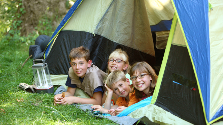 cloudland Canyon Camping: Tent