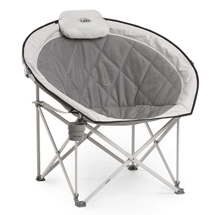 CORE Saucer Folding Camping Chair