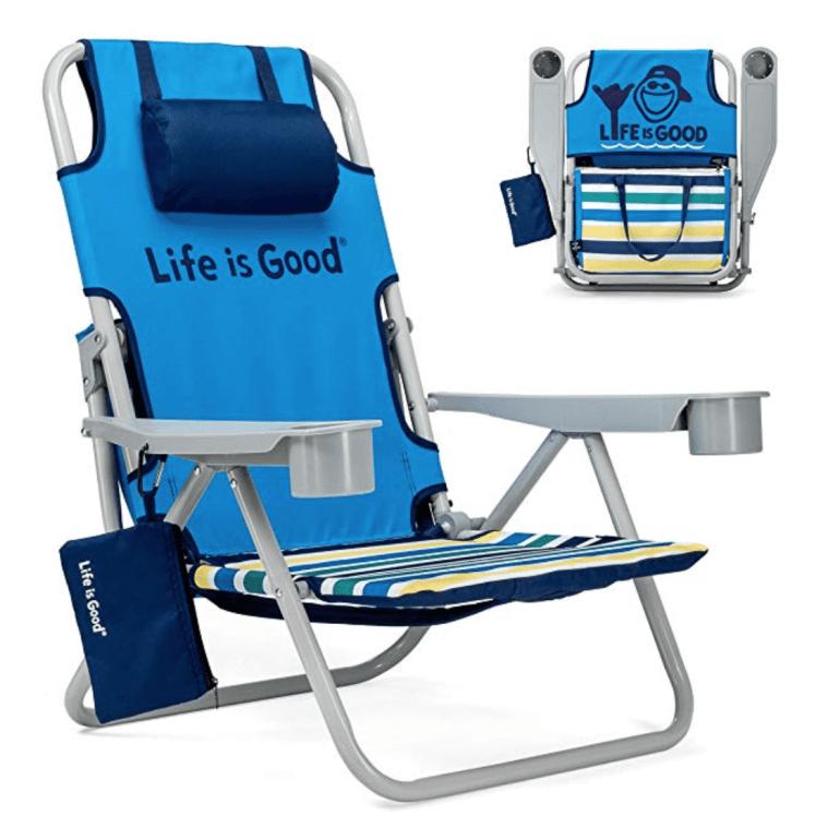 Life Is Good Beach Camping Chair