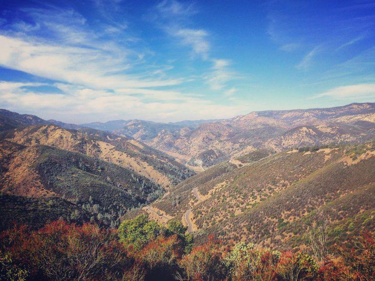 Yosemite Camping - Windy Roads