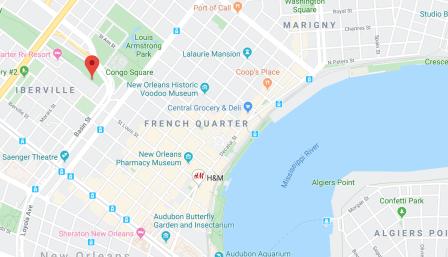 French Quarter Public Parking for RVs