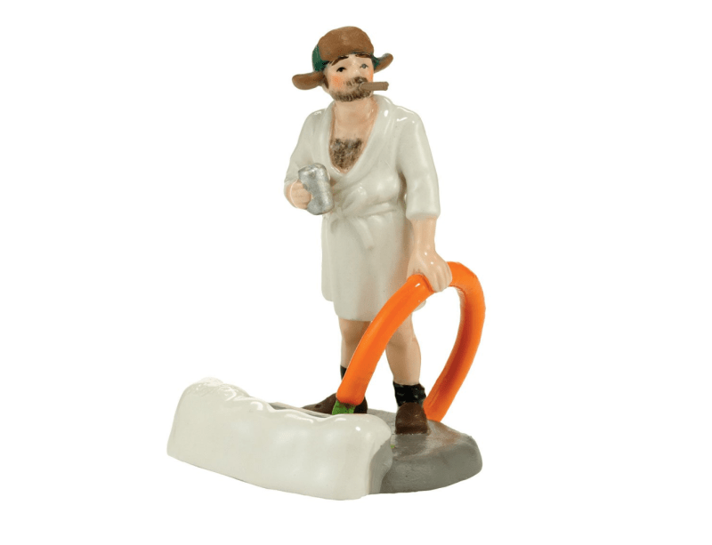 Cousin Eddie Black Water Figurine