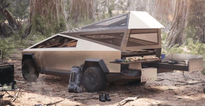 Tesla Camper Cyber Truck