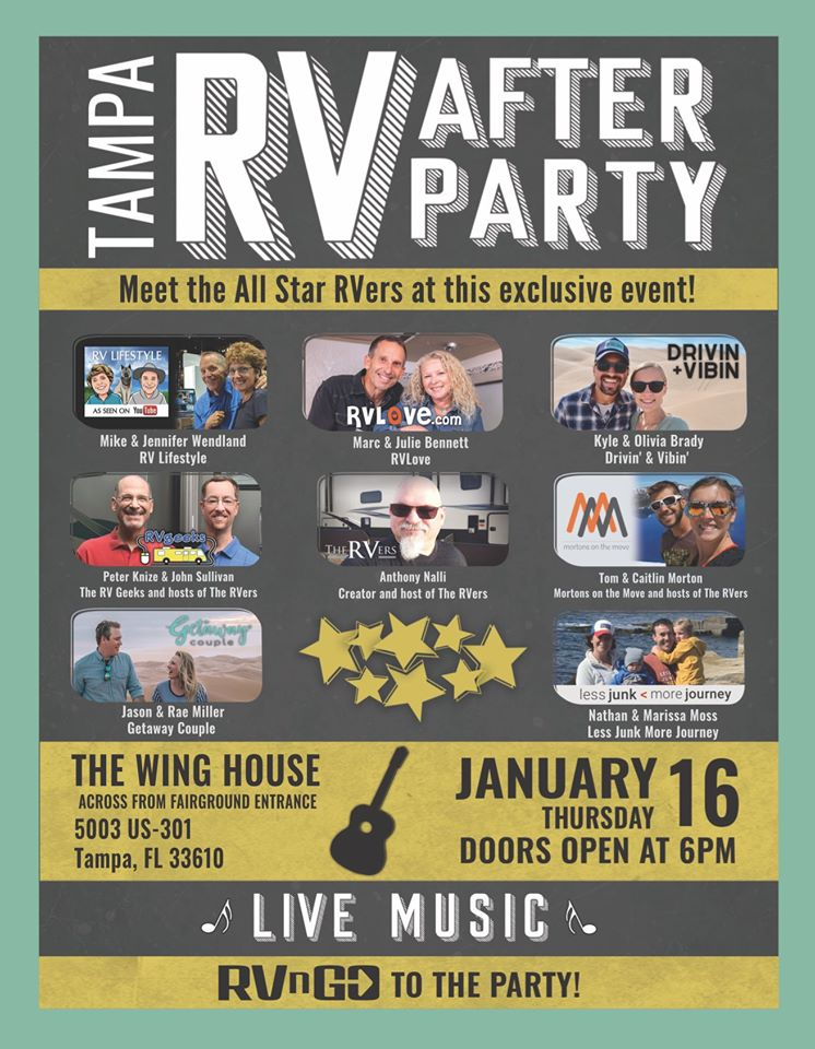 Tampa RV After Party