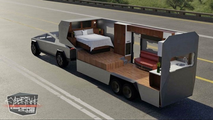 The Exciting 5th Wheel RV Designed for Tesla Cybertruck