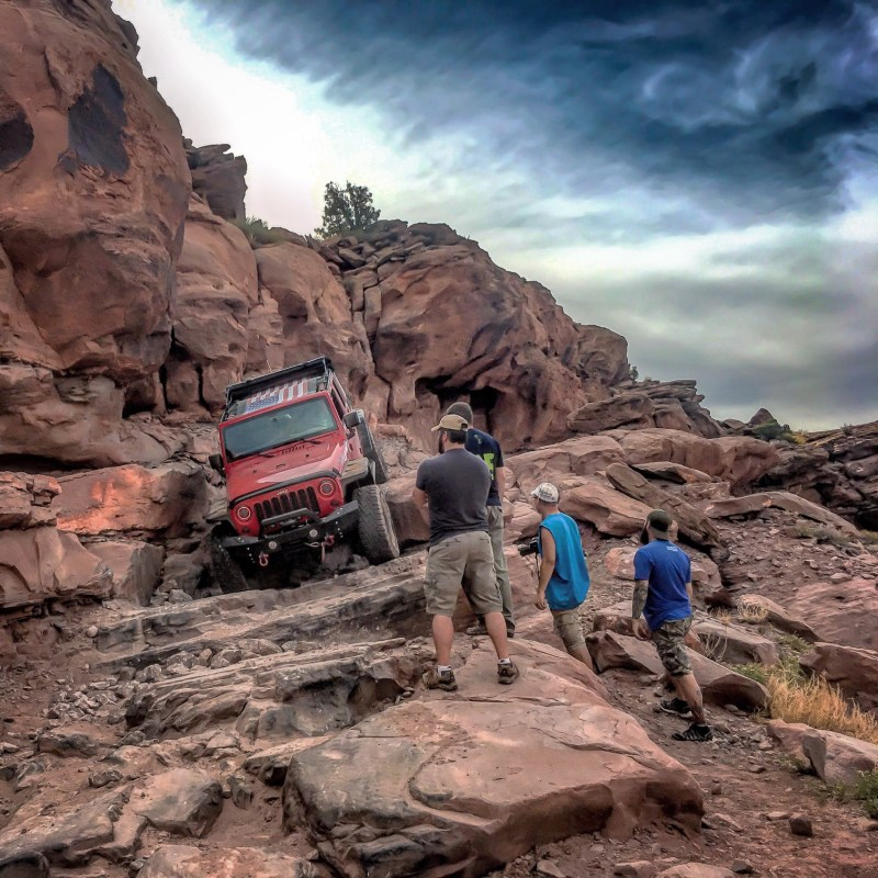 jeep in moab utah
