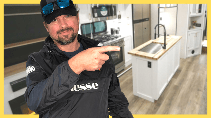 The Best 5th Wheel RV with a Butcher Block Kitchen Island