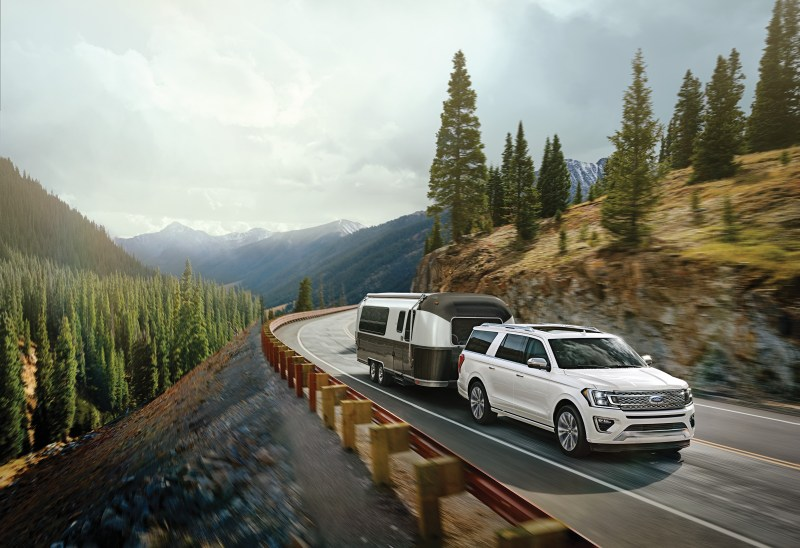 2021 Ford Expedition is more powerful than some trucks and have lots of features that make towing easier.