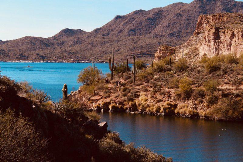 Camping, hiking, fishing, water fun - Saguaro Lake has it all!