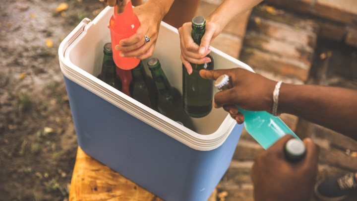 Should You Use Dry Ice in a Camping Cooler