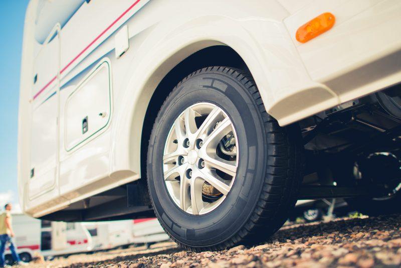 Tires For RV Camper Van.