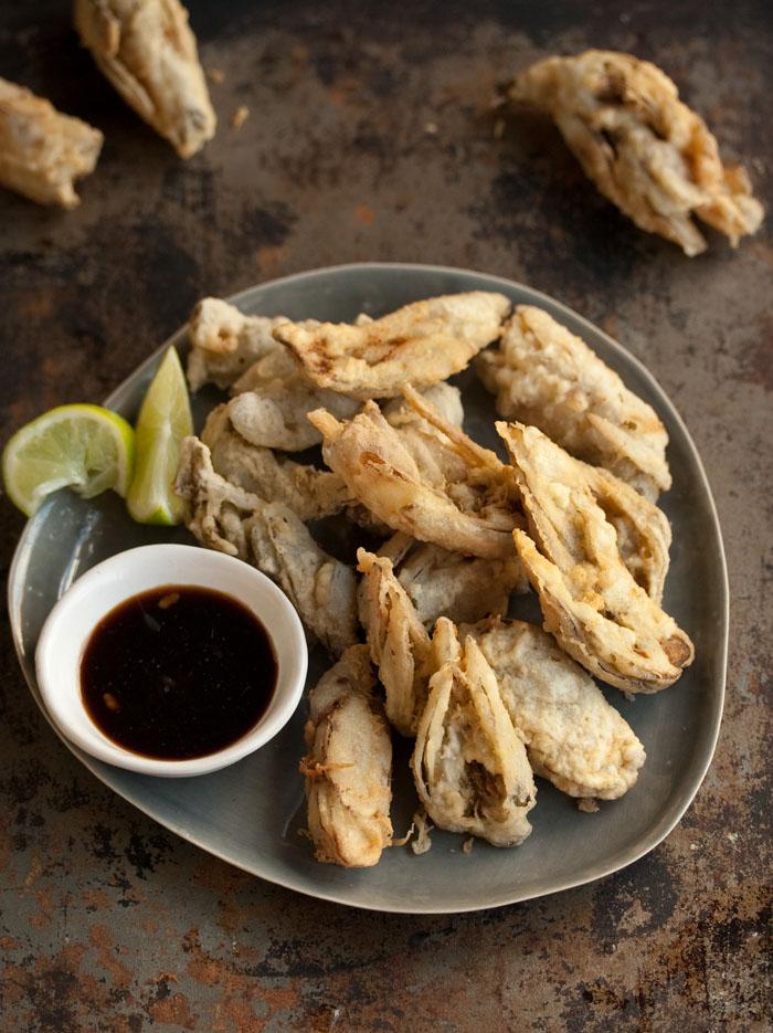 waterblommetjie tempura