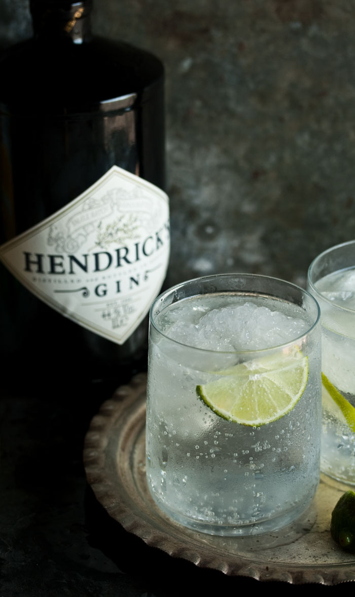 Best hendricks gin tonic recipe drizzle and dip for Best mix with gin