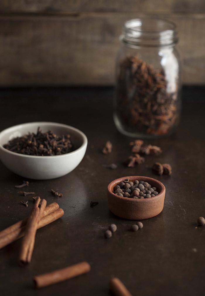 spices for chocolate gluwein
