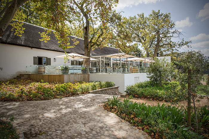 Die Werf Restaurant on Boschendal Wine Estate