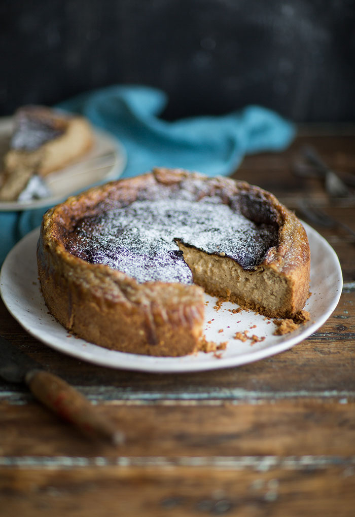 Earl Grey tea milk tart or London Fog