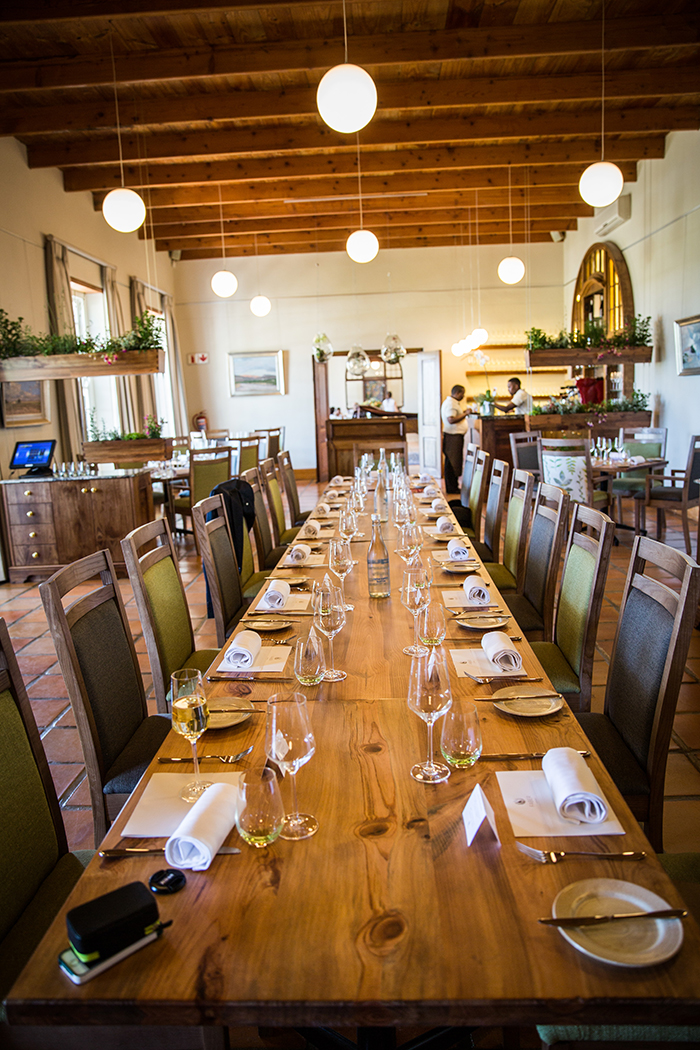 FABER restaurant at Avondale Wine Estate in Paarl