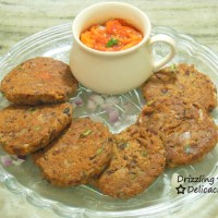 Rajma (Red Kidney Beans) Cutlets