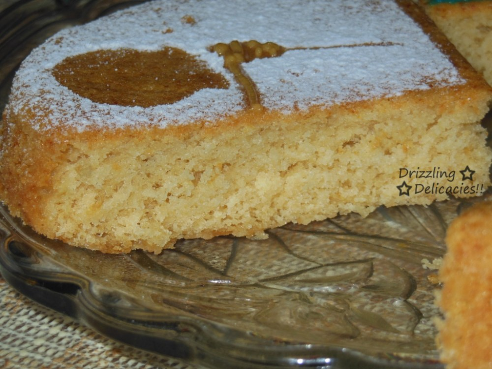 Eggless Ginger Honey Cake (3/6)