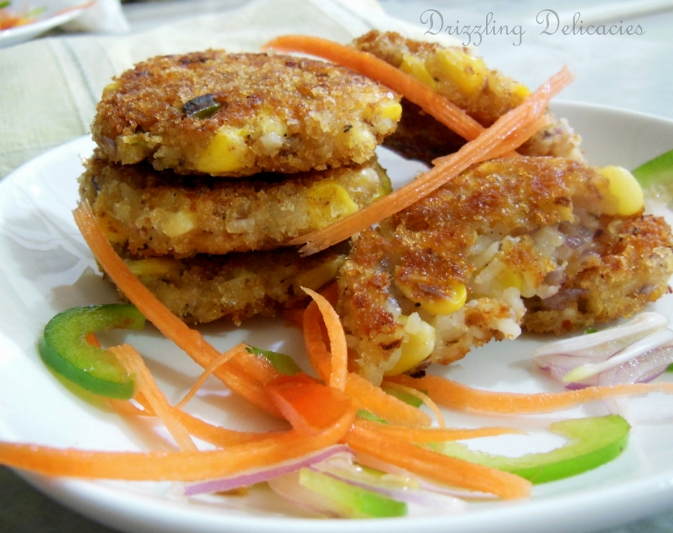 Sweet Corn and Cheese Chili Fritters (1/6)