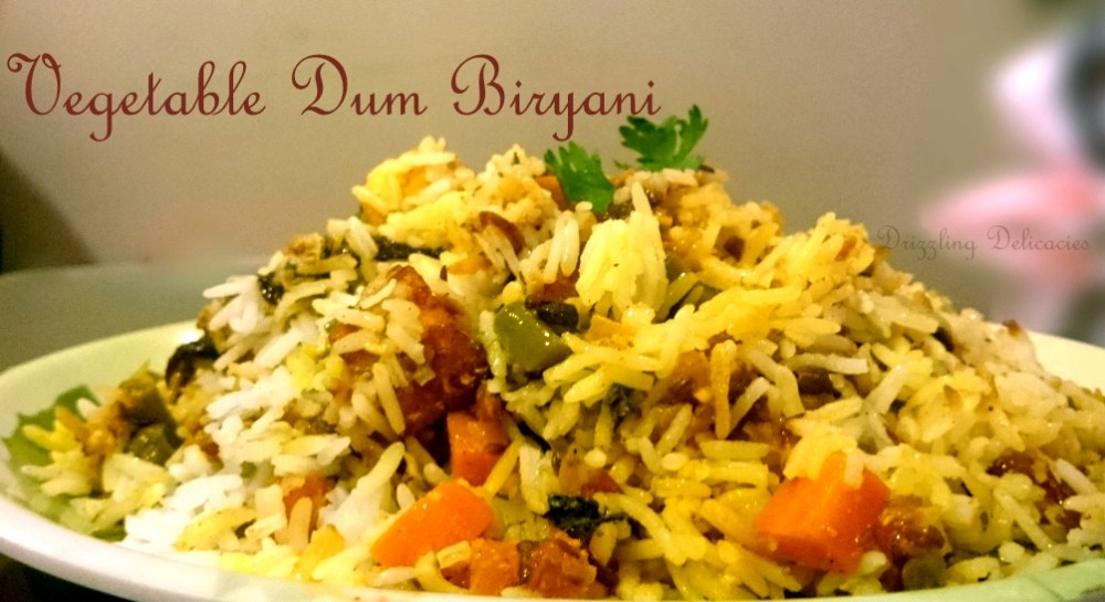Vegetable Dum Biryani (1/6)