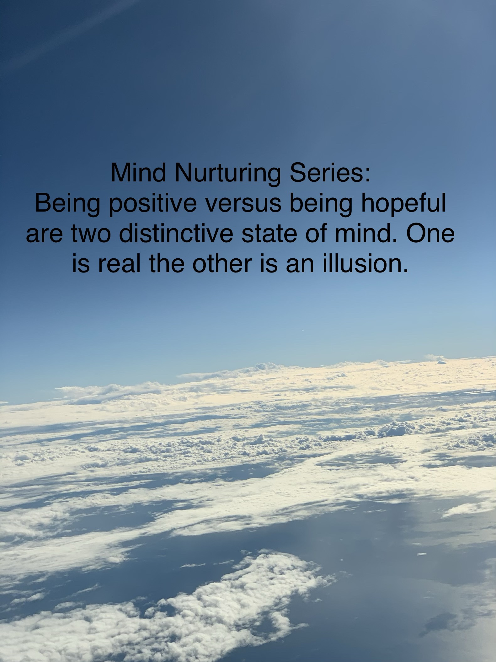 Mind Nurturing Series