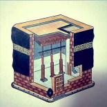 Ka'bah Illustration © @ZahraGulraiz