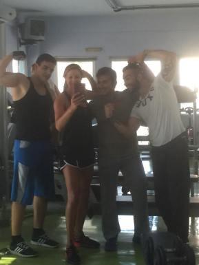 Random gym guys