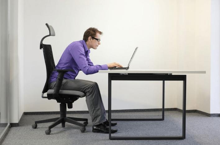 Bad Posture - neck pain
