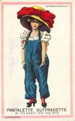 Pantalette Suffragette in the Sweet Bye and Bye