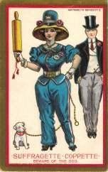 Suffragette-Coppette- Beware of the Dog