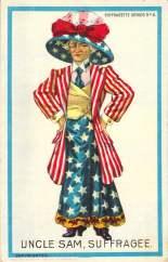 Uncle Sam, Suffragee