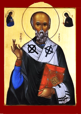 Icon of St. David of Wales