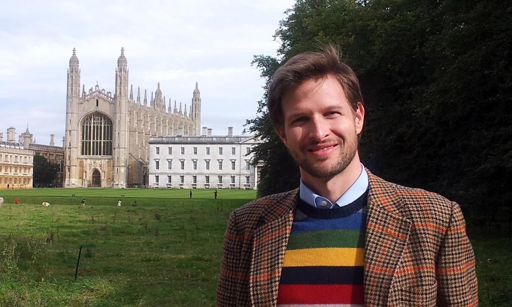 Dr. Jonathan Brown at Cambridge
