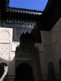 Sale ebony and ivory madrasa interior courtyard