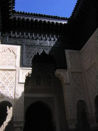 Sale ebony and ivory madrasa interior courtyard