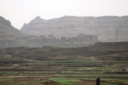 Terraced Fields from Taez to Sana