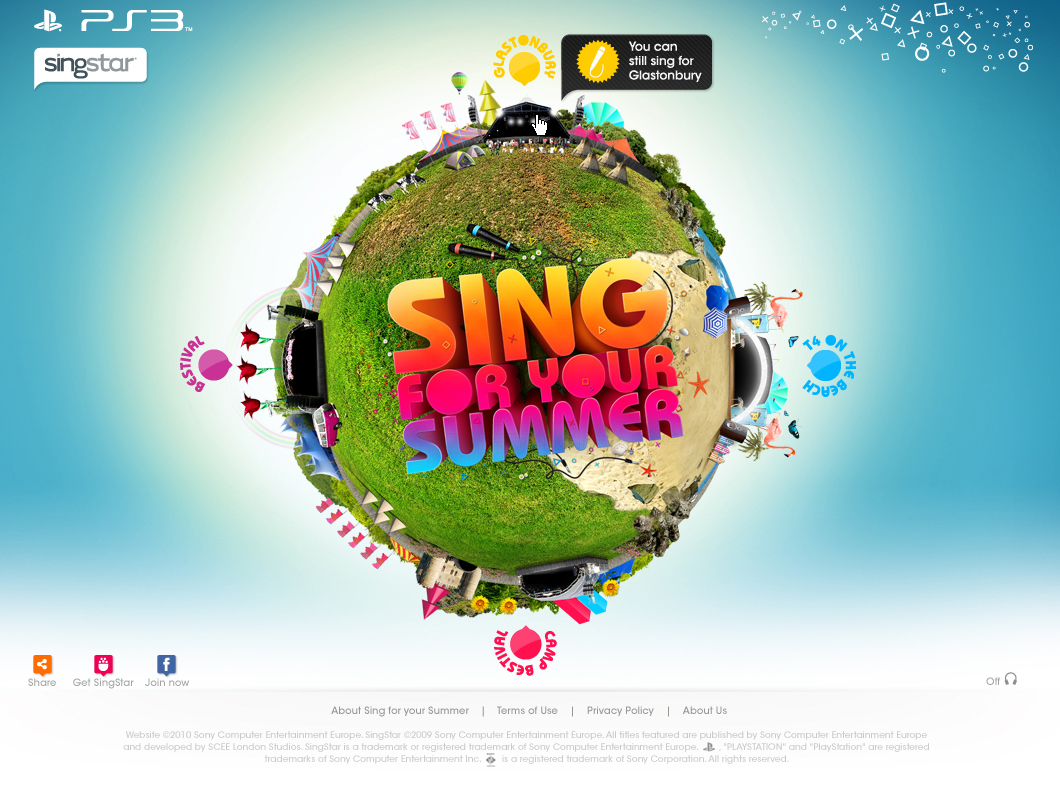 Playstation – Sing for Your Summer