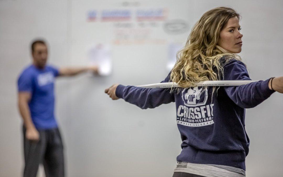 Kaitlyn Popp at CrossFit Gym