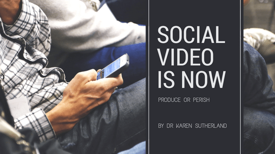 Social video is now. Produce or perish.